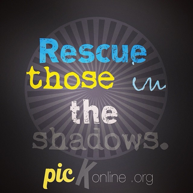 Rescue those in the shadows