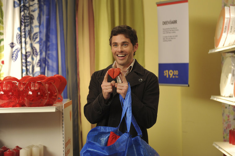 "30 ROCK -- ""Hey, Baby, What's Wrong?"" Episodes 605/606 -- Pictured: James Marsden as Criss -- Photo by: Ali Goldstein/NBC"